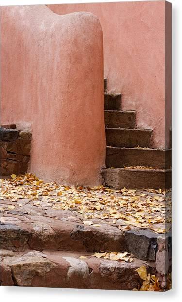 Santa Fe Adobe Canvas Print by Denice Breaux