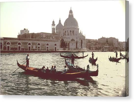 Santa Maria Della Salute Grand Canal Venice Canvas Print