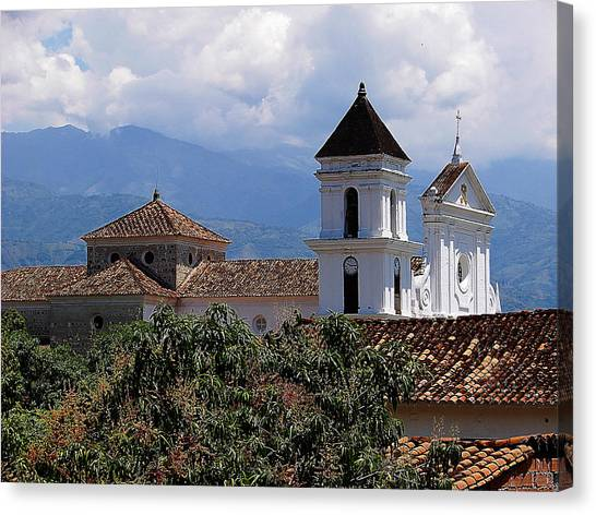 Santafe De Antioquia Canvas Print by Blair Wainman