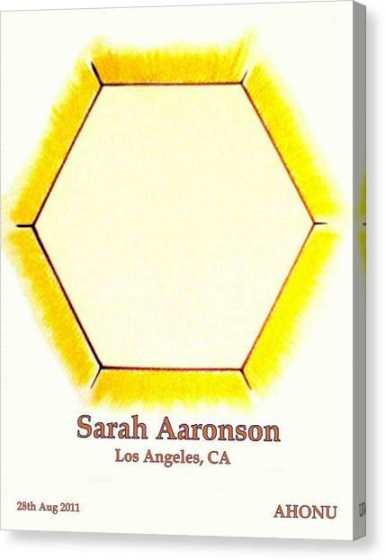 Sarah Aaronson Canvas Print