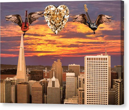 Saving All My Love For You Canvas Print