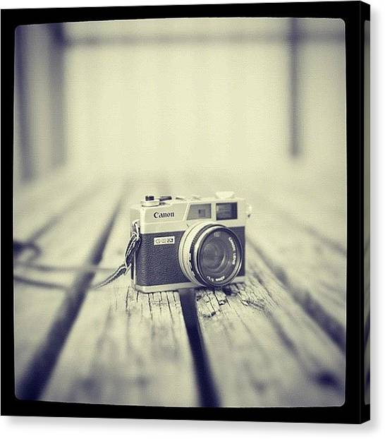 Israeli Canvas Print - Say Cheese! #camera #picture #instagram by May Pinky  ✨