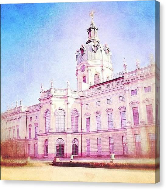 Berlin Canvas Print - Schloss Charlottenburg by Cornelia Woerster