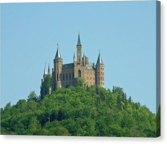 Schloss Hohenzollern Germany Canvas Print