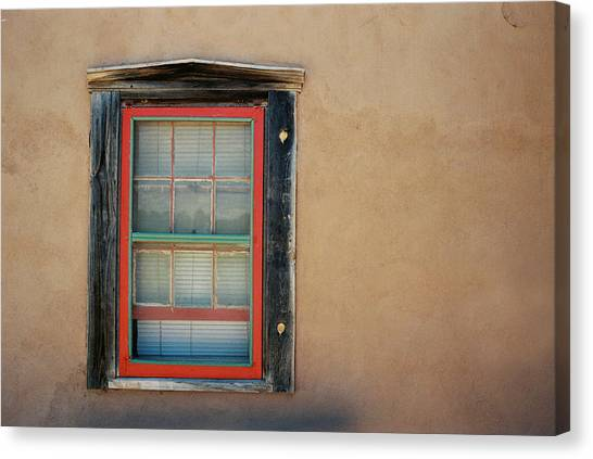 School House Window Canvas Print