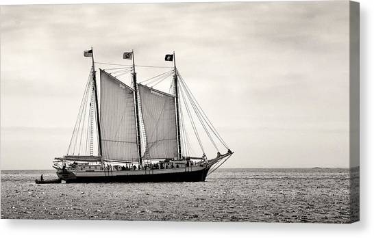 Schooner Victory Chimes 2012 Canvas Print