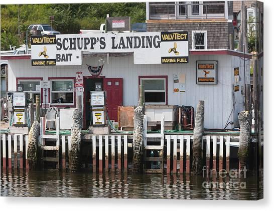 Schupp's Landing I Canvas Print