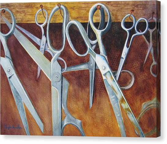 Scissors Canvas Print