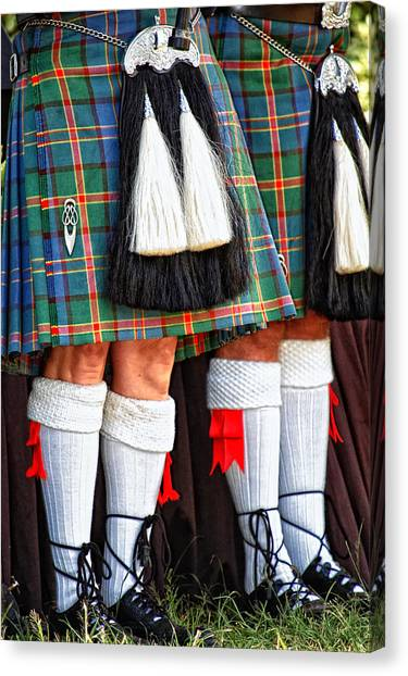 Scottish Festival 4 Canvas Print
