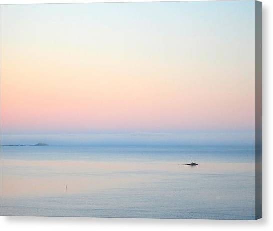 Sea Fog Canvas Print