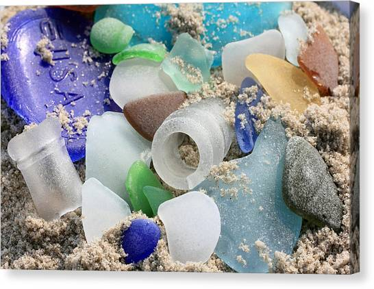 Seaglass Study IIi Canvas Print