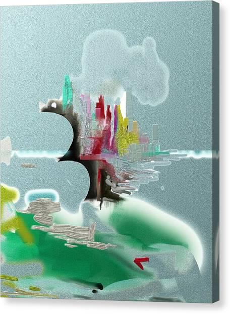 Seascape Detail Canvas Print