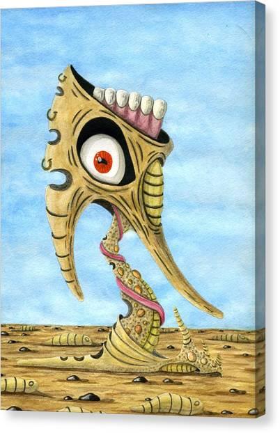 Season Of The Liar Canvas Print by Jason Darge