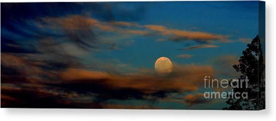 Second Full Moon 2012 Canvas Print