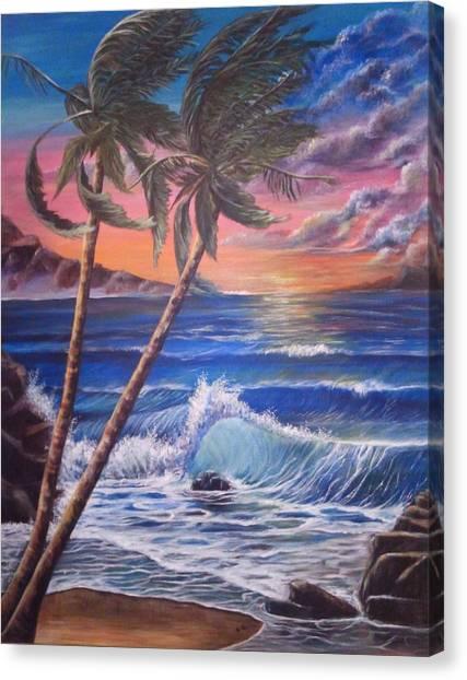 Secret Cove Canvas Print by Anna Gitchel