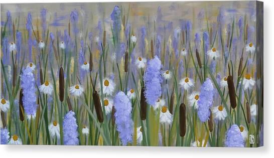 Secret Garden Canvas Print by Holly Donohoe