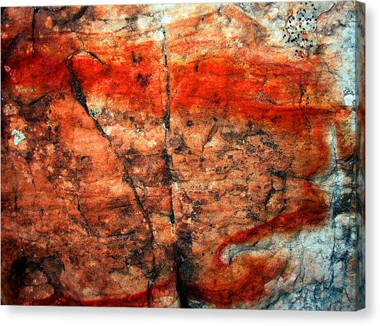 Sedona Red Rock Abstract 2 Canvas Print