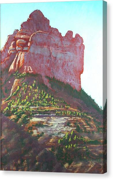 Sedona Shadows Canvas Print