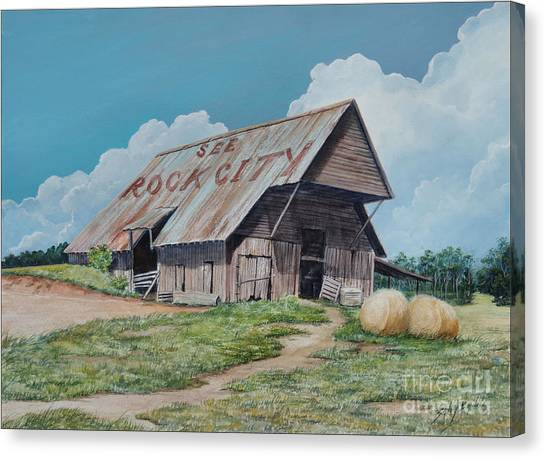 See Rock City Sold  Canvas Print