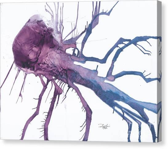 Seedburst 10 Canvas Print by David W Coffin