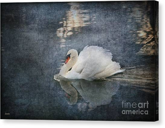 Seeing Off The Day Canvas Print