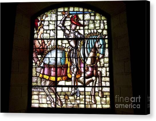 Segovia Alcazar Glass Canvas Print by Scotts Scapes