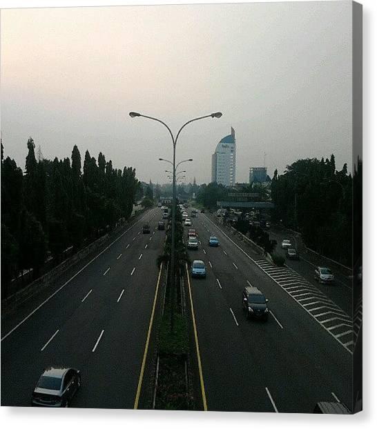 Highways Canvas Print - Selatan Jakarta #jakarta by Daus Hado