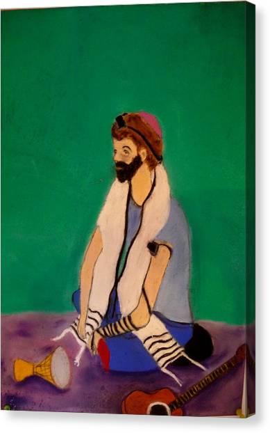 Self-portrait Canvas Print by Eliezer Sobel