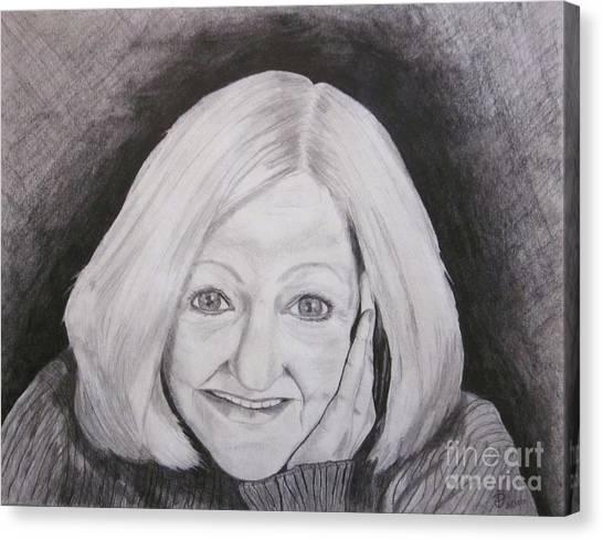Self-portrait Paje Canvas Print