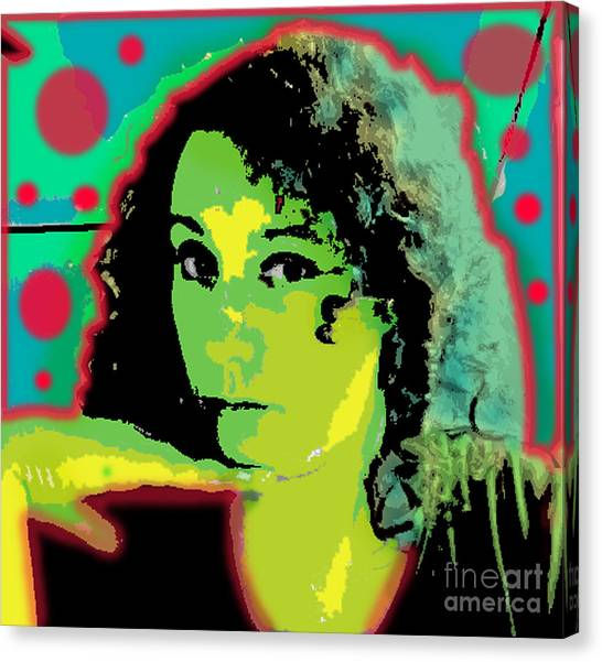 Self Portrait Pop Art Canvas Print
