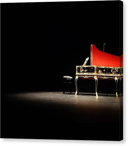 Harpsichords Canvas Print - Sempe/hantai About To Take The Stage In by Daniel Brummel