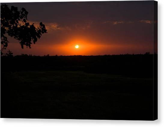 September Sunset Canvas Print