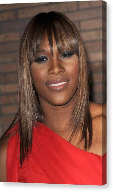 Serena Williams Canvas Print - Serena Williams At Arrivals For Glamour by Everett