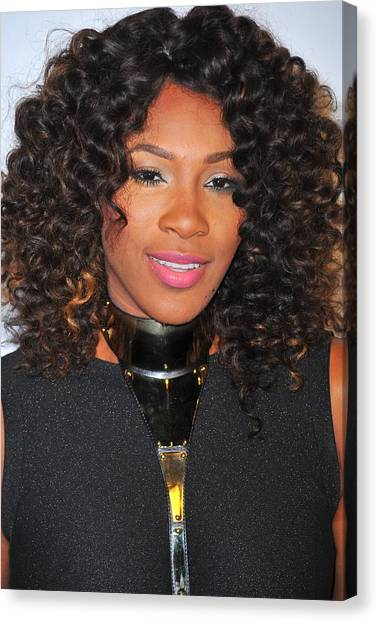 Tennis Pros Canvas Print - Serena Williams At Arrivals For Keep by Everett