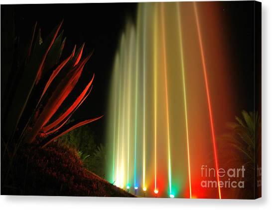 Serenade For Rainbow Canvas Print