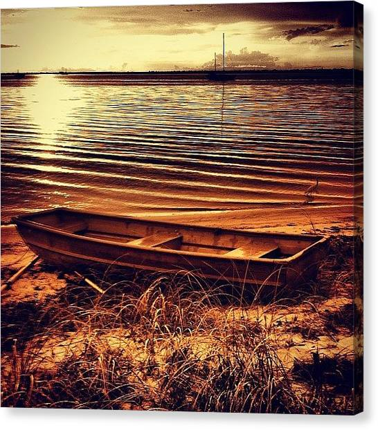 Seagrass Canvas Print - Serenity #puntagorda #charlottecounty by Michelle Huey