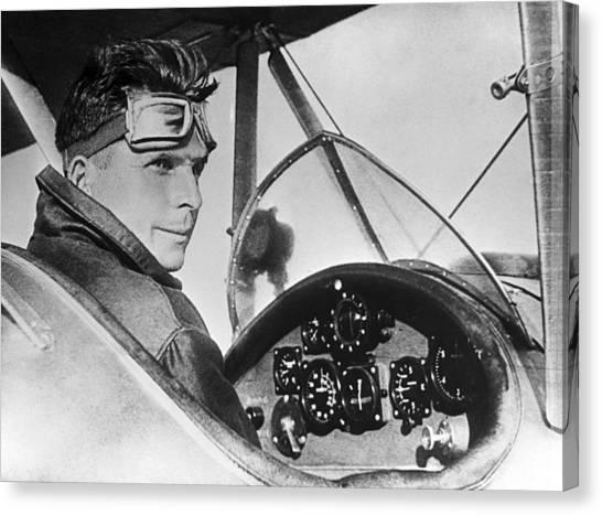 Ilyushin Canvas Print - Sergey Ilyushin, Soviet Aircraft Designer by Ria Novosti