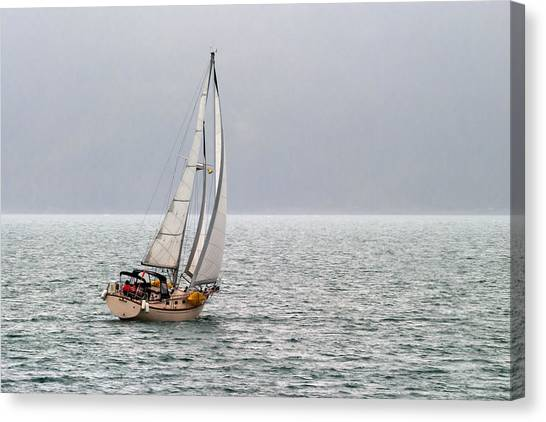 Setting Sail Canvas Print