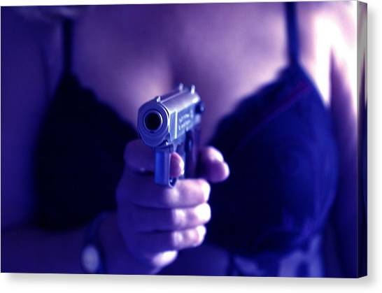 Sex And Crime Canvas Print by Franz Roth