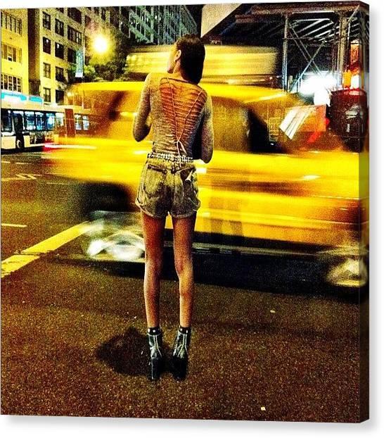 Legs Canvas Print - Sexy Back - #street #fashion #style by Liza Mae | Luxavision