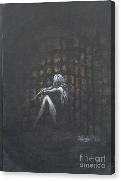 Shackled Canvas Print