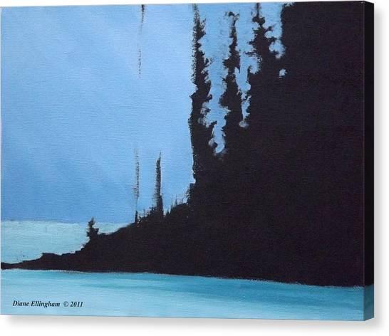 Shadow Island Canvas Print