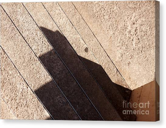 Shadow Stair Canvas Print