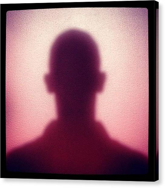 Shoulders Canvas Print - Shadowy by Zeke Rice