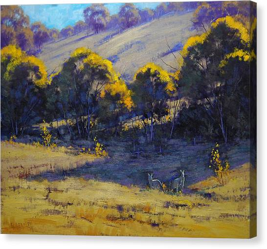 Bush Canvas Print - Shady Corner by Graham Gercken
