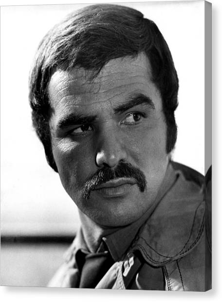 Burt Reynolds Canvas Print - Shamus, Burt Reynolds, 1973 by Everett