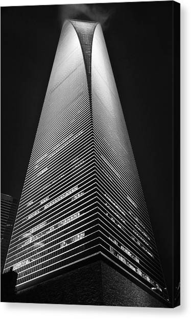 Shanghai World Financial Center Canvas Print