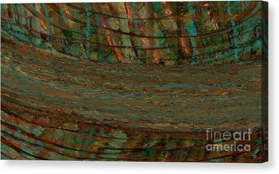 Shattered Abstract Canvas Print by Michelle Lee