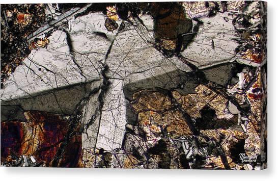 Shattered Lunar Landing Canvas Print