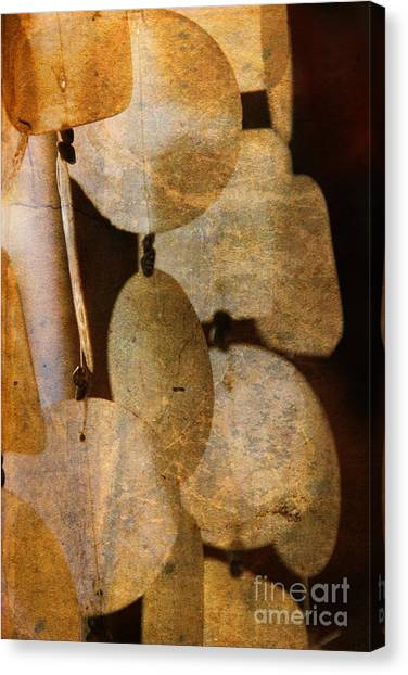 Wind Chimes Canvas Print - Shell Wind Chimes by Susanne Van Hulst